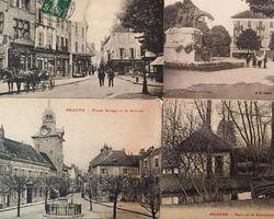 Julien Lachaux Antiquités - Beaune - Les cartes postales et les timbres